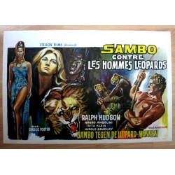 SAMBO AGAINST THE LEOPARD MEN