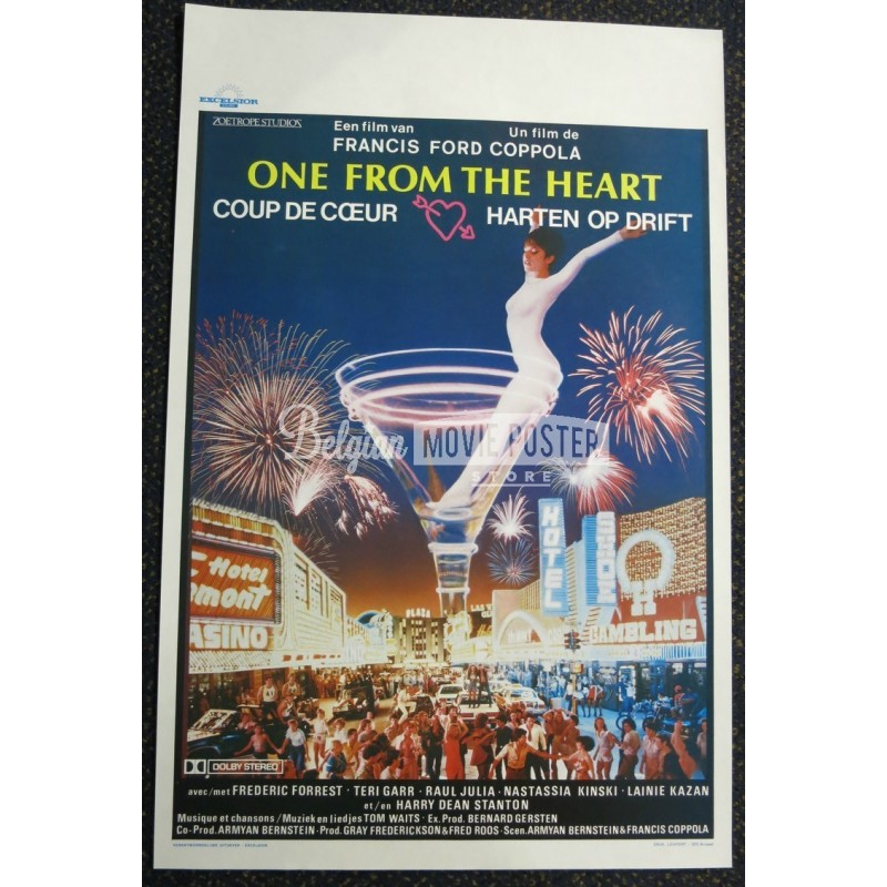 one from the heart belgian movie poster store