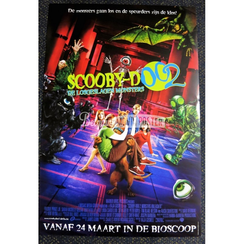 Scooby Doo 2 Monsters Unleashed Belgian Movie Poster Store