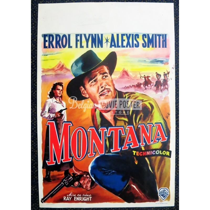 montana belgian movie poster store