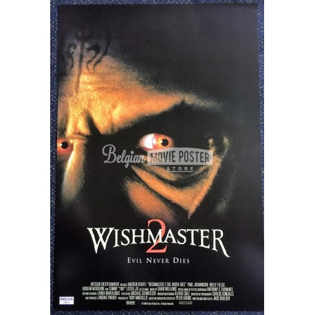 WISHMASTER 2 : EVIL NEVER DIES