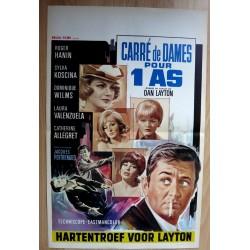 CARRE DE DAMES POUR 1 AS